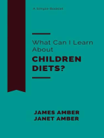 What Can I Learn About Children Diets?