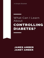 What Can I Learn About Controlling Diabetes?