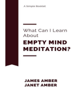 What Can I Learn About Empty Mind Meditation?