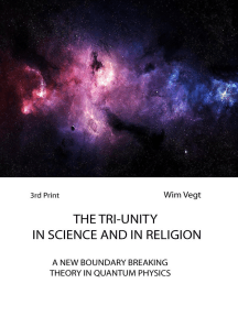 The Tri-Unity in Religion and Science: The Power of Light, #3