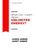 What Can I Learn About Unlimited Energy?
