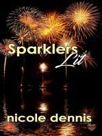 Sparklers Lit
