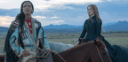 Jessica Chastain Plays The Artist Who Painted Sitting Bull In The Inert History Lesson 'Woman Walks Ahead'