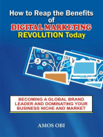 How to Reap the Benefit of Digital Marketing Revolution Today