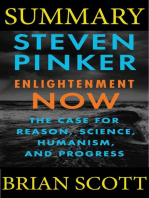 Summary Of Enlightenment Now By Steven Pinker