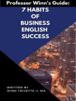 7 Habits of Business English Success