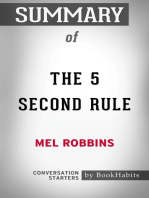 Summary of The 5 Second Rule by Mel Robbins | Conversation Starters
