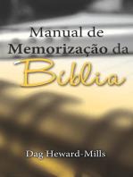 Manual De Memorização Da Bíblia