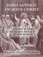 Hard Sayings of Jesus Christ