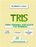 Tris: Ensemble percussion for 3-4-7 beginners