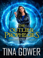The Outlier Prophecies Boxed Set, plus novella Blood and Magic