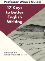 17 Keys to Better English Writing