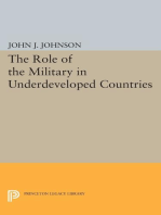Role of the Military in Underdeveloped Countries