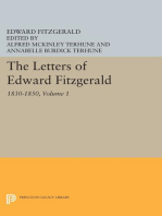 The Letters of Edward Fitzgerald, Volume 1