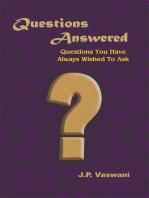 Dada Answers