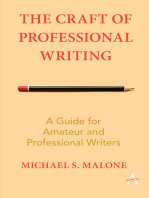 The Craft of Professional Writing