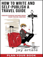 How to Write and Self-Publish a Travel Guide #1 (Plan Your Book)