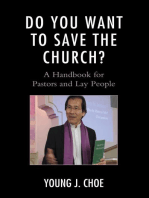 Do You Want to Save The Church?