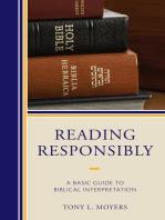 Reading Responsibly