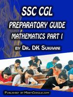 SSC CGL Preparatory Guide -Mathematics (Part 1)