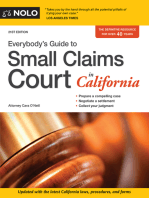 Everybody's Guide to Small Claims Court in California