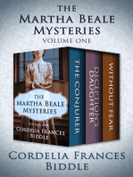 The Martha Beale Mysteries: The Conjurer, Deception's Daughter, and Without Fear