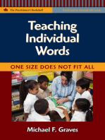 Teaching Individual Words