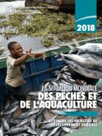 La situation mondiale des pêches et de l'aquaculture 2018