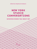 New York Studio Conversations: Seventeen Women Talk About Art