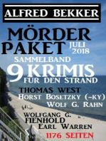 Mörder-Paket Juli 2018