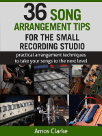 36 Song Arrangement Tips for the Small Recording Studio