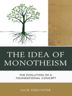 The Idea of Monotheism