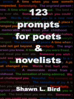 123 Prompts for Poets & Novelists