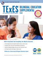 TExES Bilingual Education Supplemental (164) Book + Online