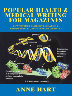Popular Health & Medical Writing for Magazines