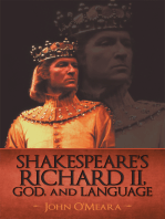 Shakespeare'S Richard Ii, God, and Language