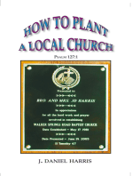 How to Plant a Local Church