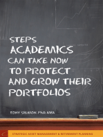 Steps Academics Can Take Now to Protect and Grow Their Portfolios