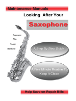 Looking After Your Saxophone