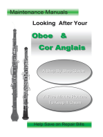 Looking After Your Oboe & Cor Anglais