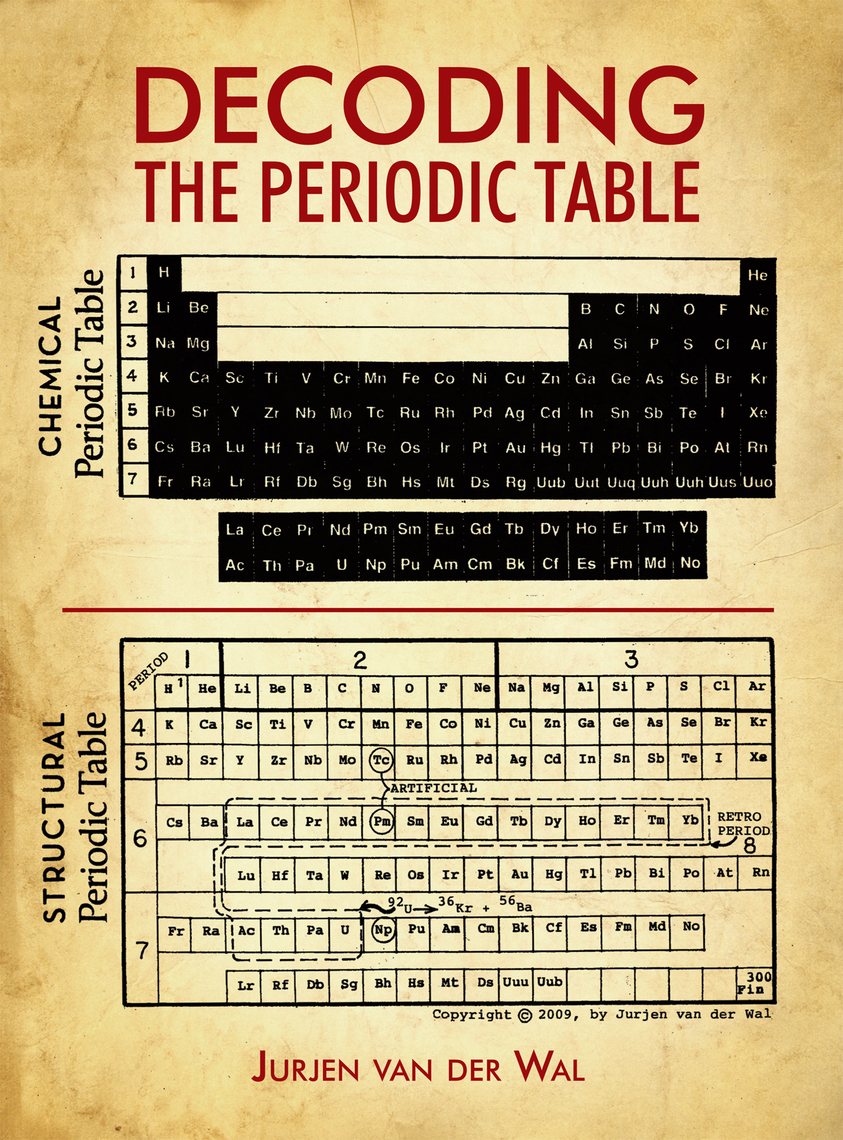 Decoding the Periodic Table by Jurjen Van Van der Wal by Jurjen Van