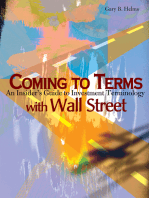 Coming to Terms with Wall Street
