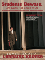 Students Beware: Life Does Not Begin at 21: A Federal Government Pre-Employment Background Investigation Guidebook