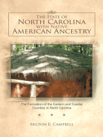 The State of North Carolina with Native American Ancestry