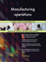 Manufacturing operations A Clear and Concise Reference