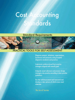 Cost Accounting Standards Standard Requirements