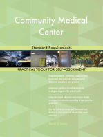 Community Medical Center Standard Requirements