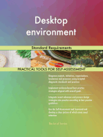 Desktop environment Standard Requirements