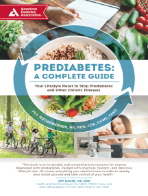 Prediabetes: A Complete Guide: Your Lifestyle Reset to Stop Prediabetes and Other Chronic Illnesses