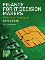 Finance for IT Decision Makers